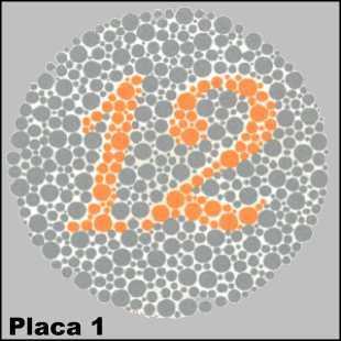 Essa é uma placa de controle até mesmo pessoas com daltonismo verão o número 12.