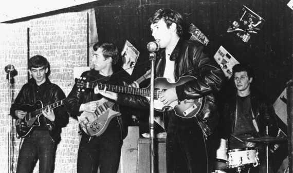 Beatles Perform In Liverpool