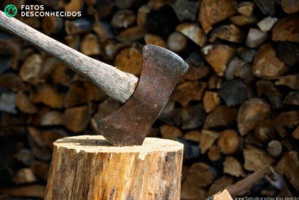 Ax Stuck in Splitting Log
