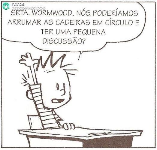 Calvin na escola (1)