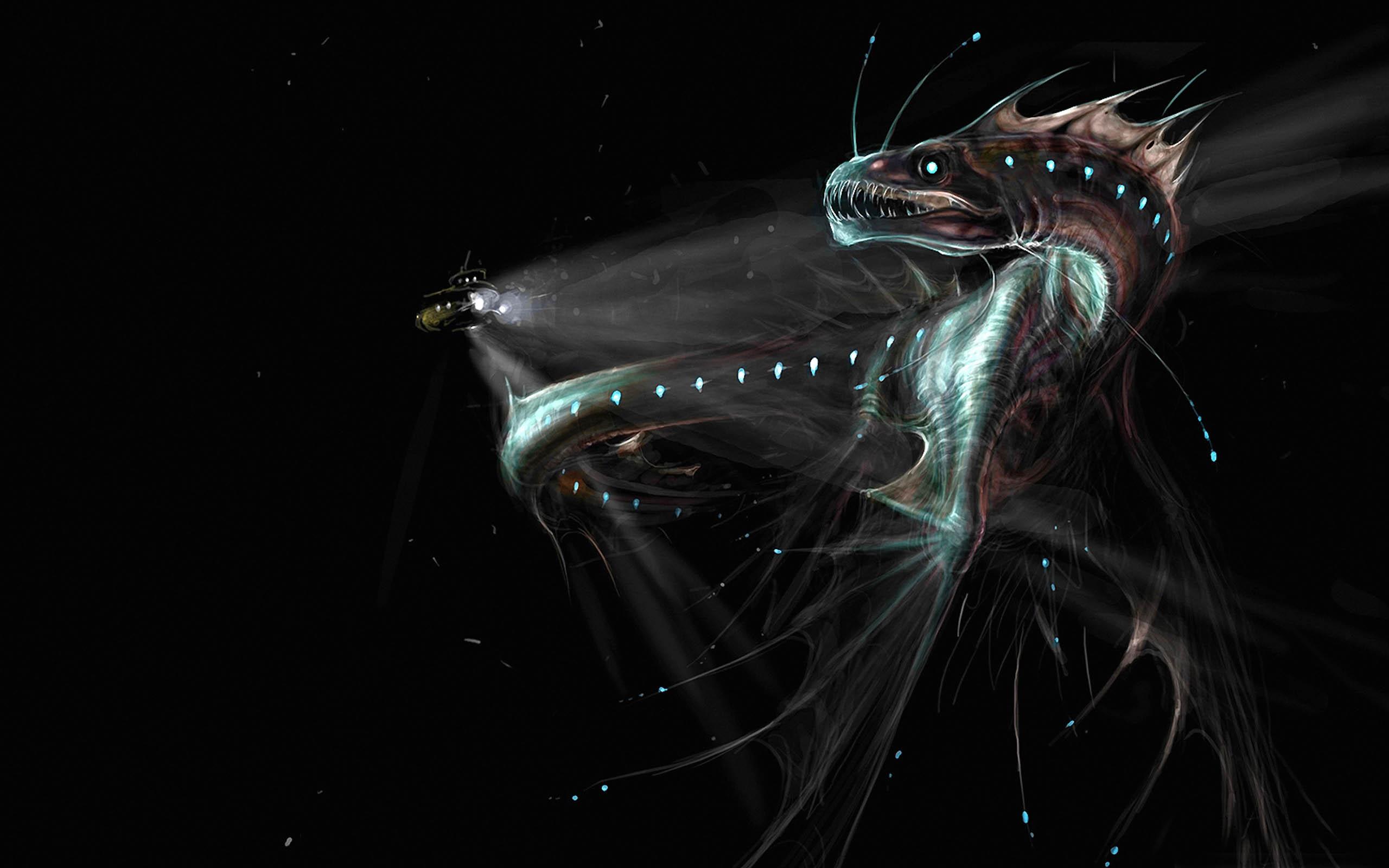 Giant sea monsters art - photo#35