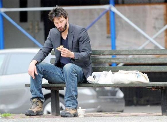 A incrível história de vida de Keanu Reeves