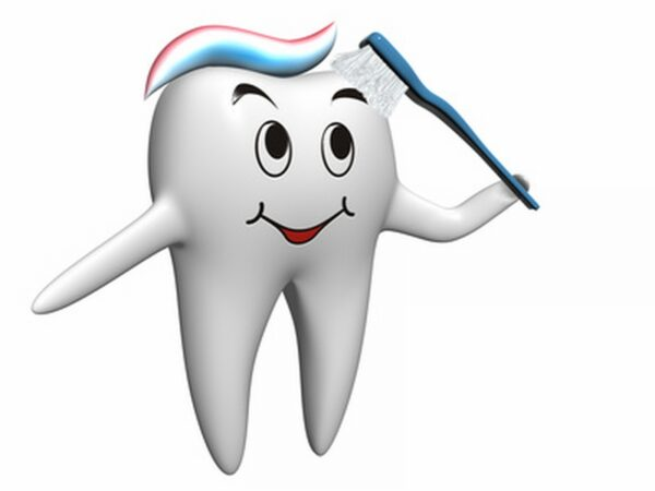 Selfbrushing tooth