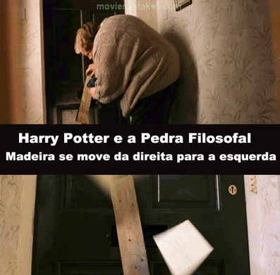 10 Erros nos filmes da saga Harry Potter que você nunca reparou