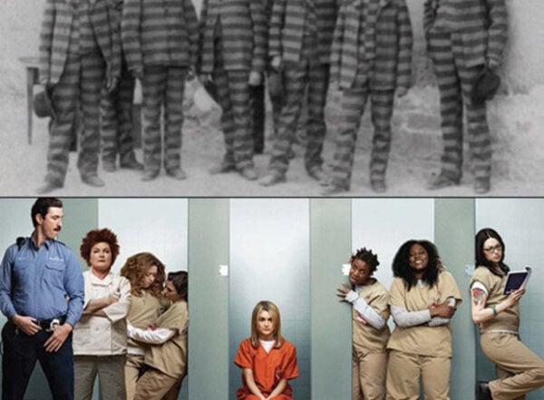 Descubra porque os presos usam uniforme laranja