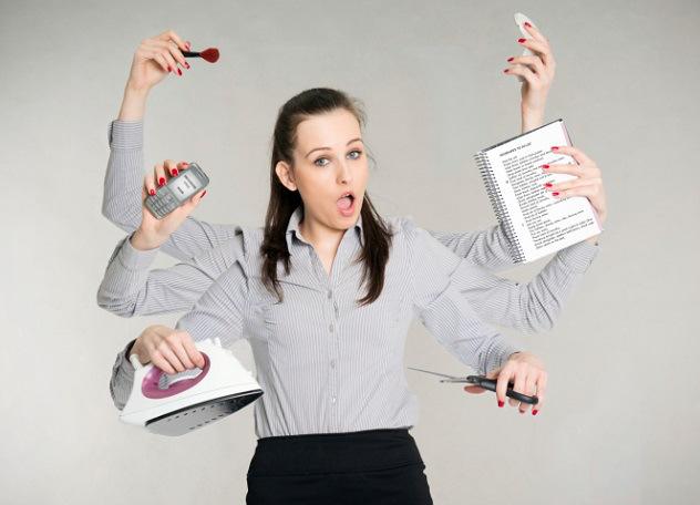 Resultado de imagem para mulheres e multiplas tarefas