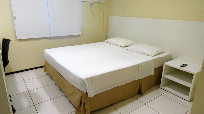 Hospedagem-economica-Sao-Luis-Hotel-Soft-Inn-cafe-da-manha-cama