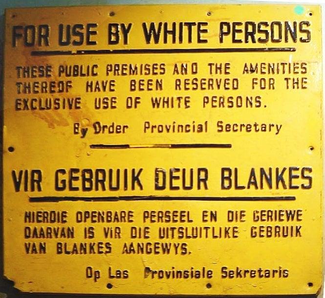 ApartheidSignEnglishAfrikaans