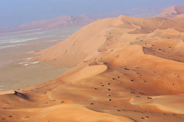 The Rub Al Khali Desert