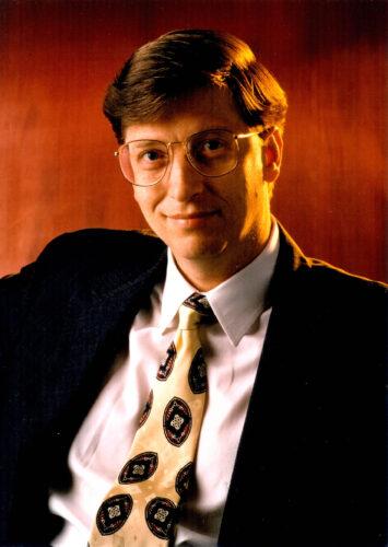 372812 01: Bill Gates, CEO of Microsoft Corporation.