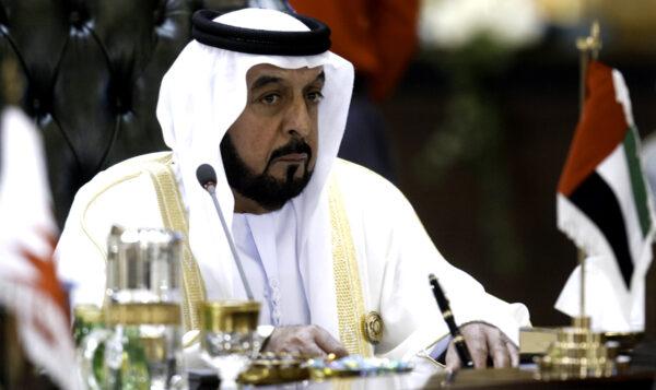 UAE president, Sheikh Khalifa bin Zayed