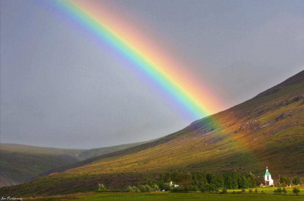 Iceland church rainbow_full