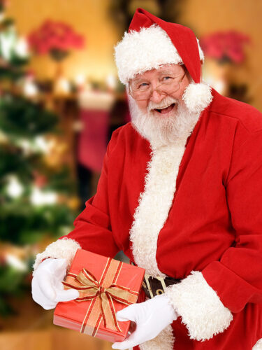 Larry Evans as Santa Claus. Photo © Ryan Howe