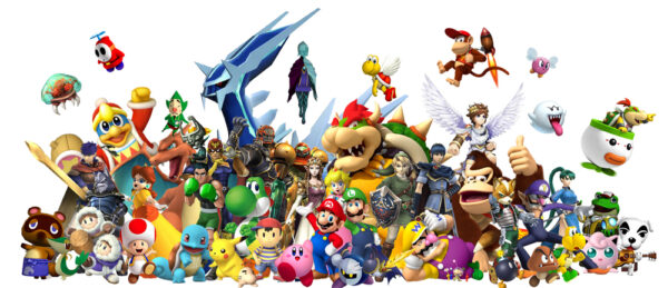 10 coisas sobre a Nintendo que talvez você nem imagina Nintendo-characters-600x259