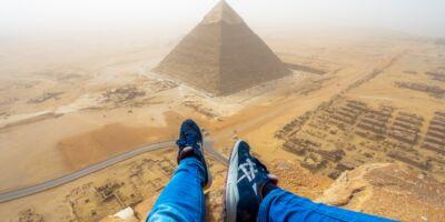 foto piramide gize