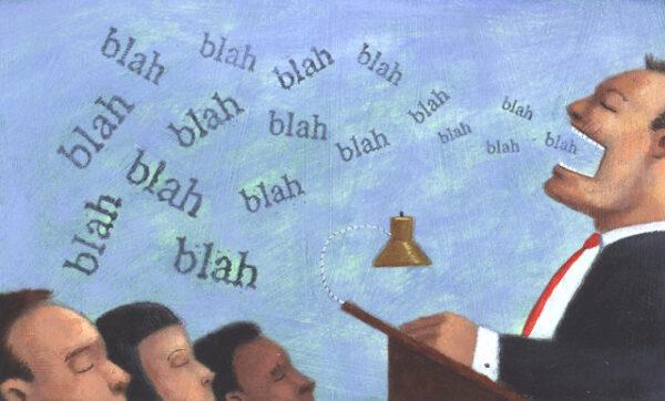 Speech Maker --- Image by © Images.com/Corbis