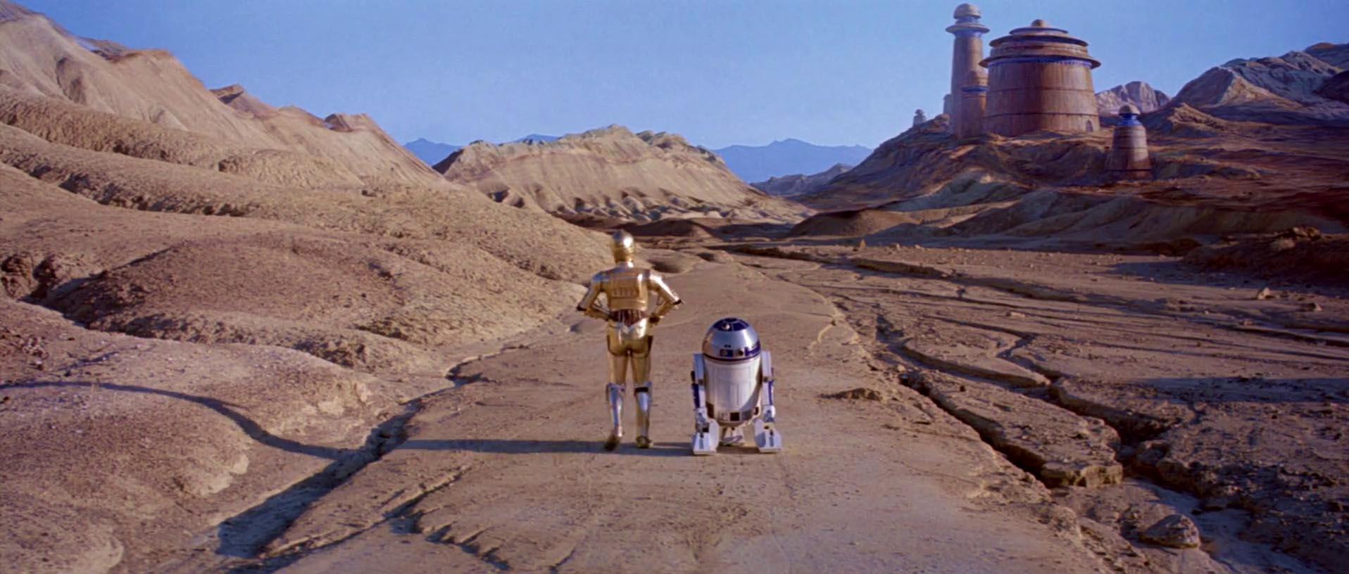 R2d2 And C3po Desert 12 atores que s...