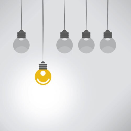 Seja Diferente e Pense Positivo - Conceito