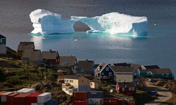 Iceberg, Chris Huhne