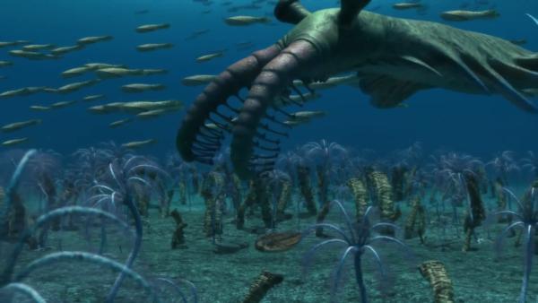 Resultado de imagem para Vida no mar há bilhões de anos