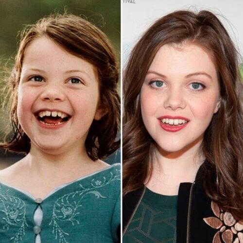 """Antes e depois dos atores de """"As Crônicas de Nárnia"""""""