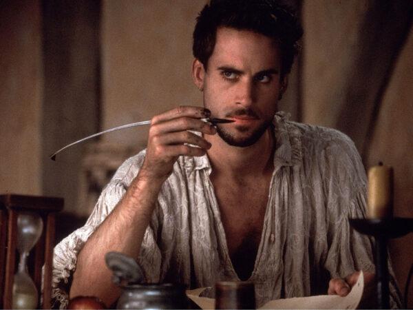 Actor Joseph Fiennes as William Shakespeare in the film Shakespeare in Love