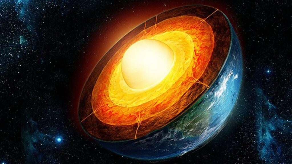 O campo magnético da Terra é gerado dentro do núcleo líquido do nosso  planeta 738d51f95a755
