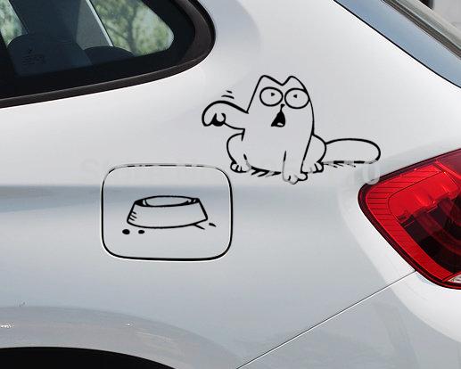 hungry-simon-s-cat-bowl-jdm-decal-font-b-funny-b-font-gas-fuel-tank-cap