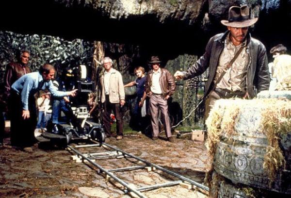"05_Flatbed_WEB - May Original Filename: IJ1_IA_259_R.jpgvia Flatbed Web Behind the scenes shots from ""Raiders of the Lost Ark"""