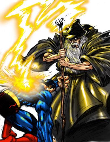 superman-vs-gandalf