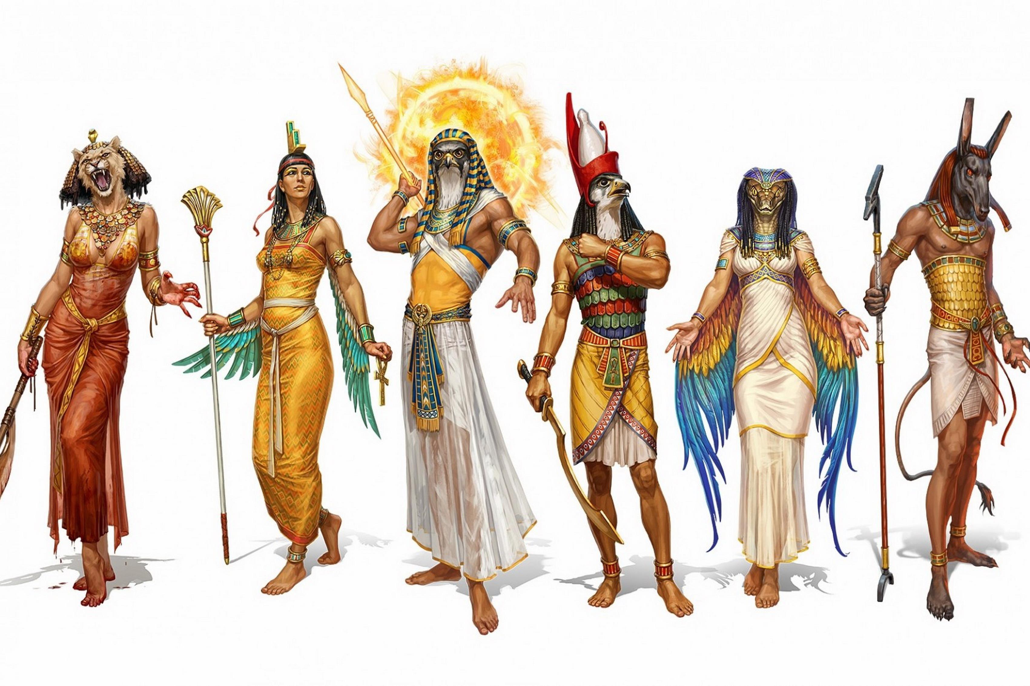 Egypt Warrior Illustration Anubis Pyramid Fantasy Art: 8 Principais Deuses Egípcios E Suas Respectivas Históricas