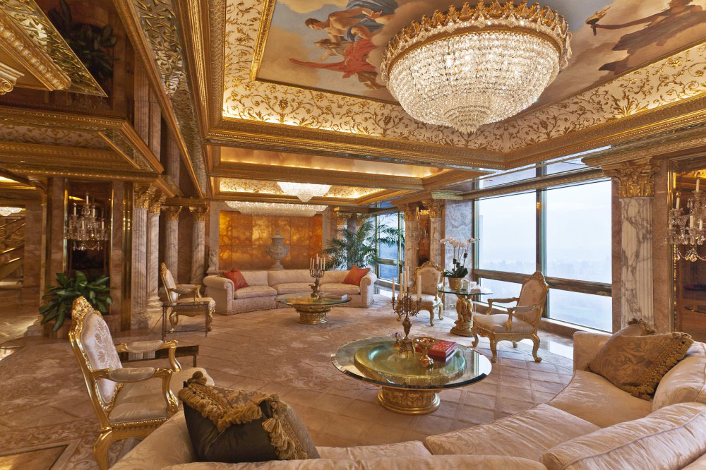 Inside Donald And Melania Trumpu0027s Manhattan Apartment Mansion | IDesignArch  | Interior Design, Architecture U0026 Interior Decorating EMagazine