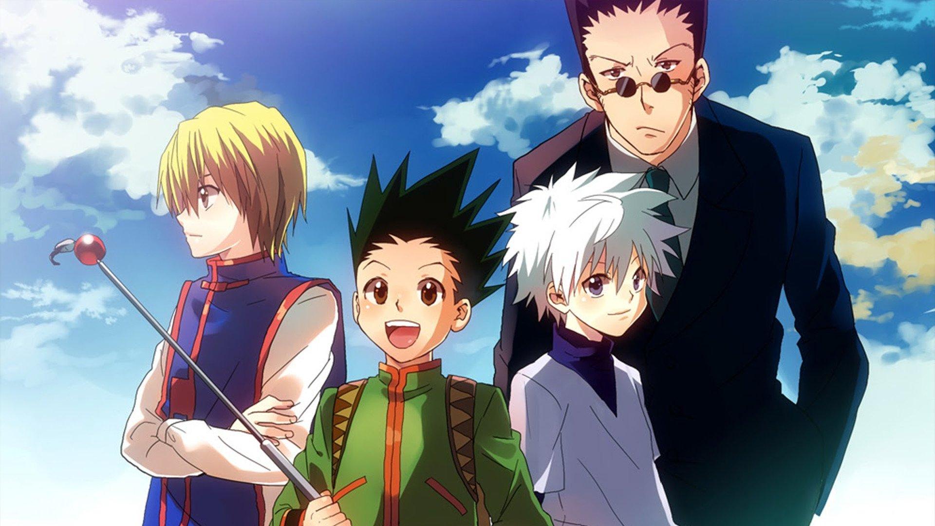melhores animes - Hunter x Hunter