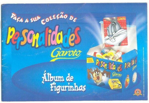 Bombons Personalidades Garoto %C3%81lbum de Figurinhas