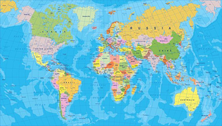 Tem Na Web - Gif mostra verdadeiro tamanho dos países no mapa múndi e surpreende