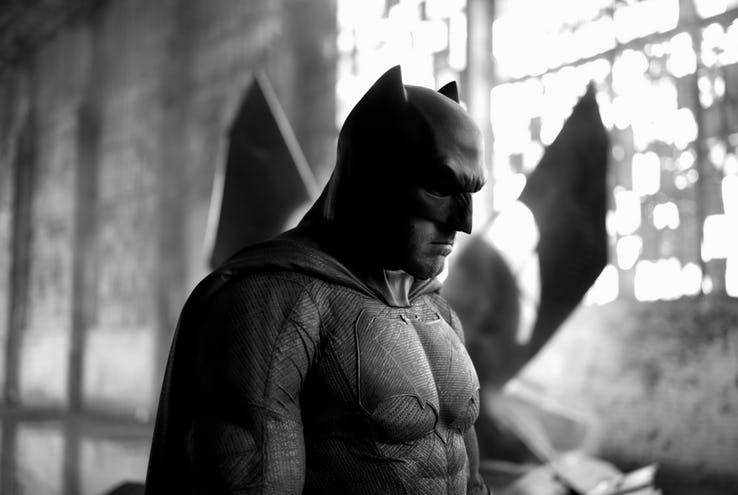 Ben Affleck as Batman close up