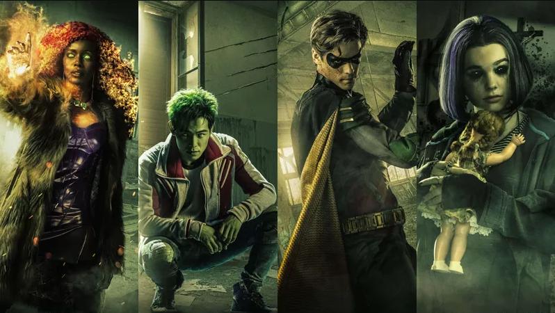 Tem Na Web - Titans pode ter novos integrantes ao final da primeira temporada