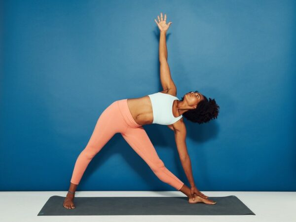 triangle pose beginner yoga
