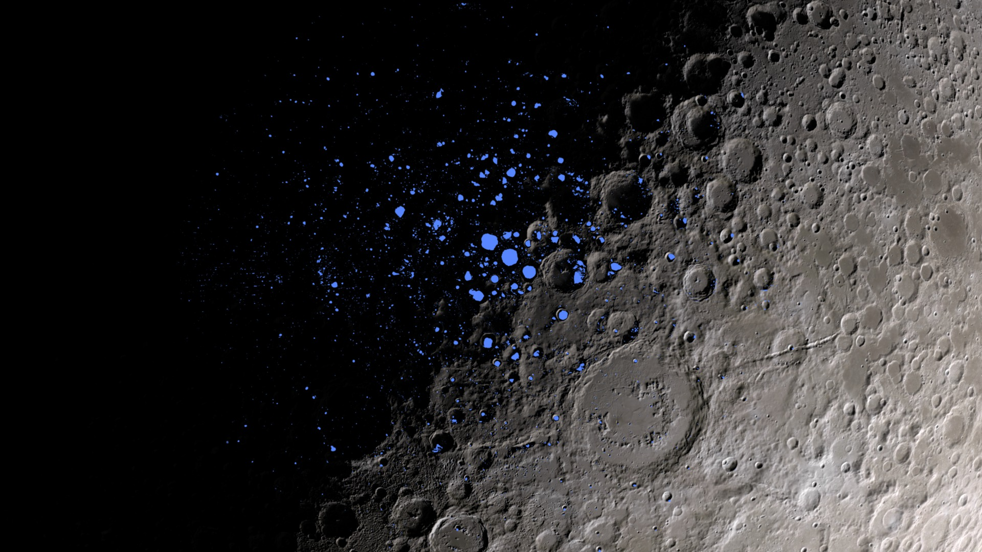 NASA encontra água na Lua