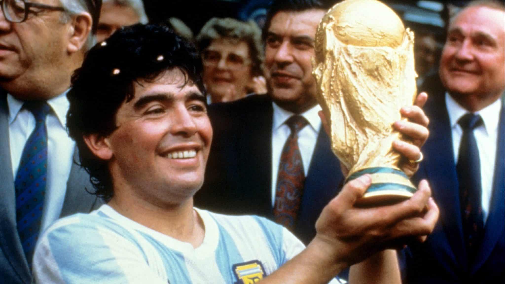 7 curiosidades para celebrarmos a vida de Maradona