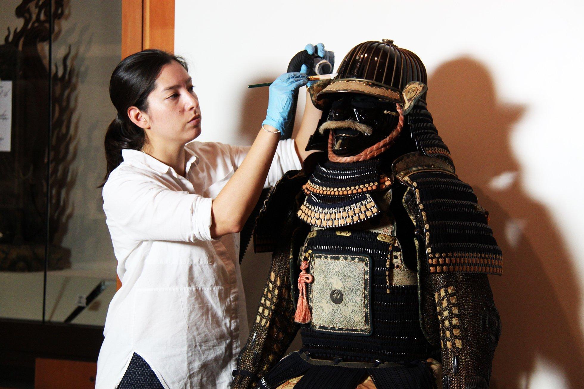 Como eram feitas as antigas armaduras samurais?