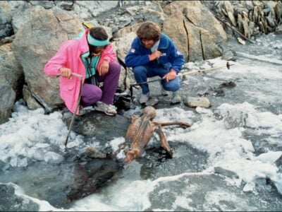 Homem de gelo de 5,3 mil anos tinha tatuagens no corpo